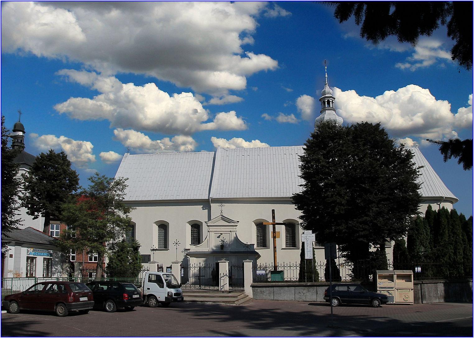 Kościół pw. Podwyższenia Krzyża Św. w Kazimierzy Wielkiej