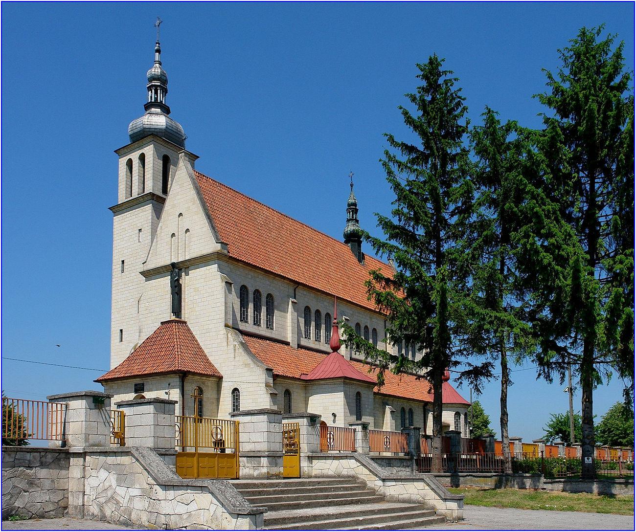 Kościół pw. Wniebowzięcia NMP w Kazimierzy Małej