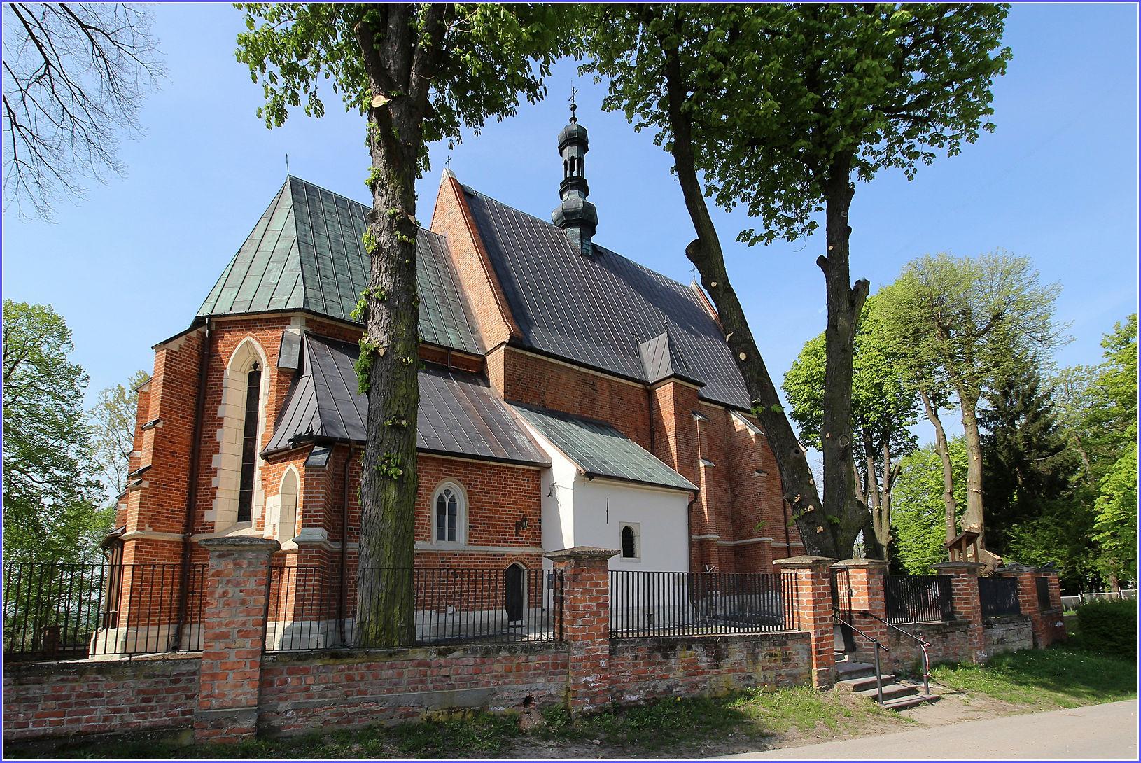 Kościół Świętego Mikołaja w Bejscach